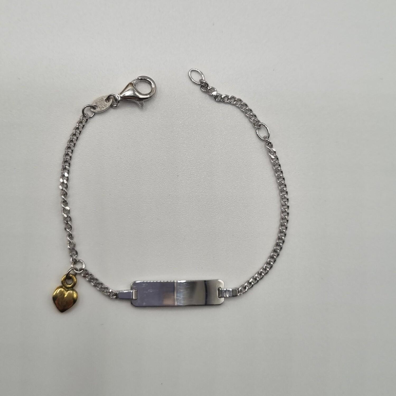 ID Armband Silber
