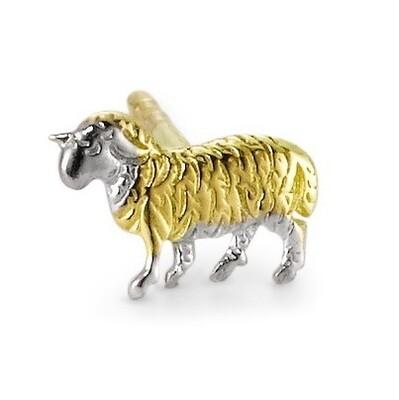 Ohrstecker Schaf
