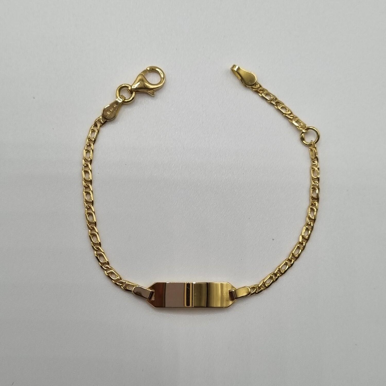ID Armband Gold