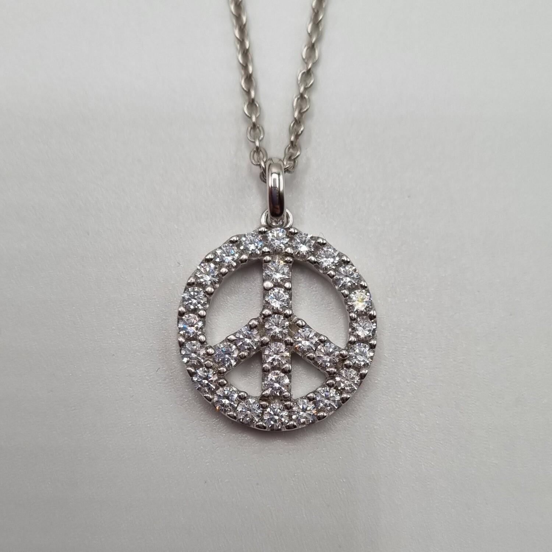Anhänger Silber Peace