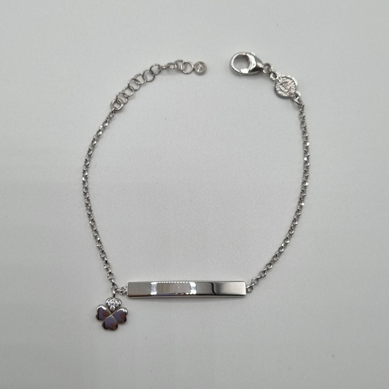 ID-Armband Kleeblatt