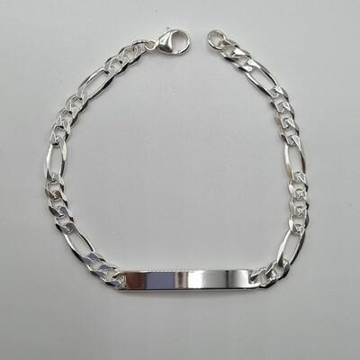 1 ID-Armband Silber
