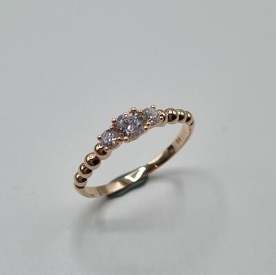 Verlobungsring Rotgold