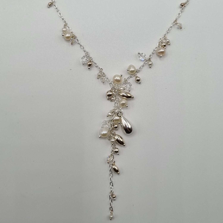 Y-Collier Perlen