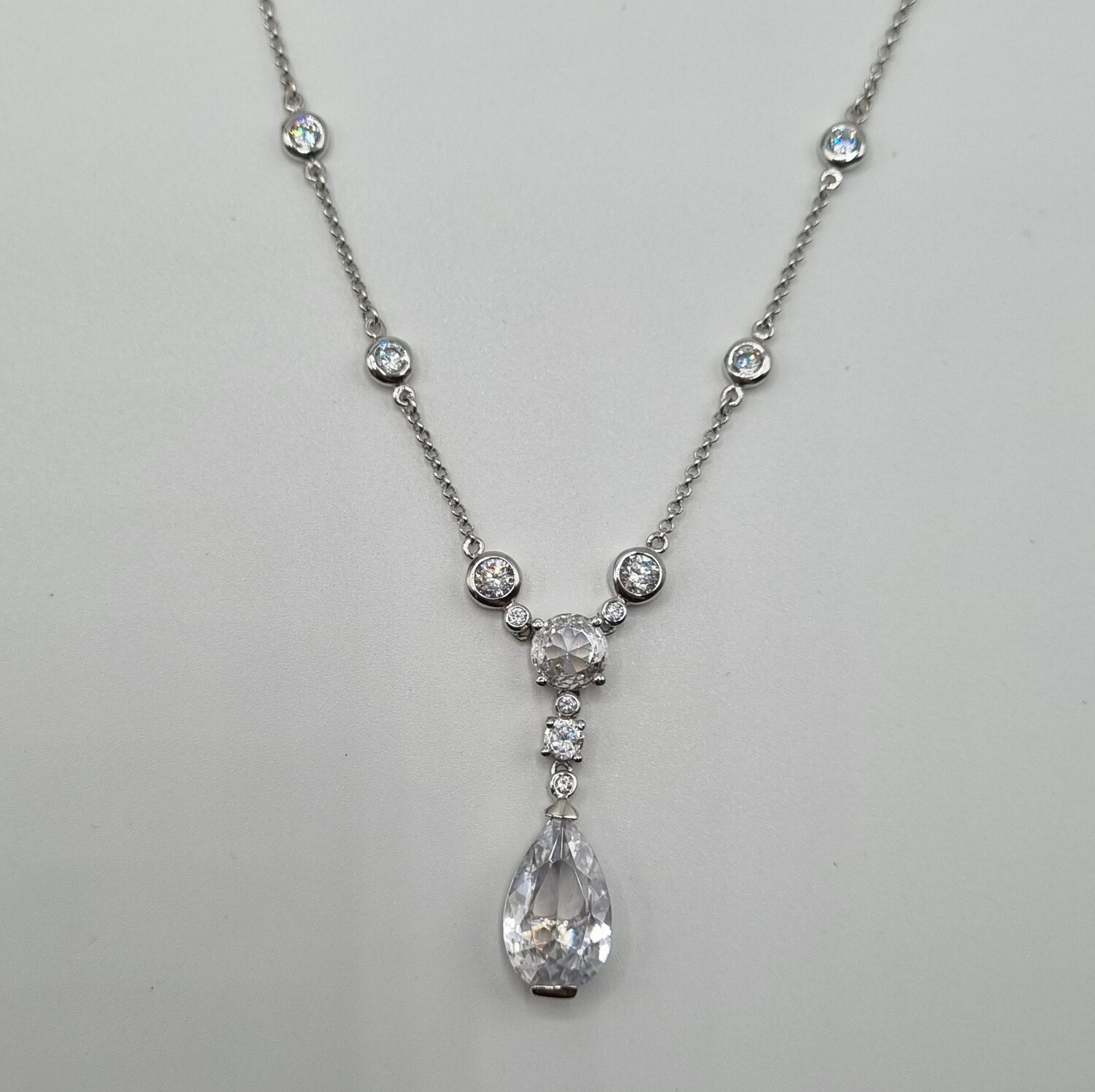 Y-Collier Silber