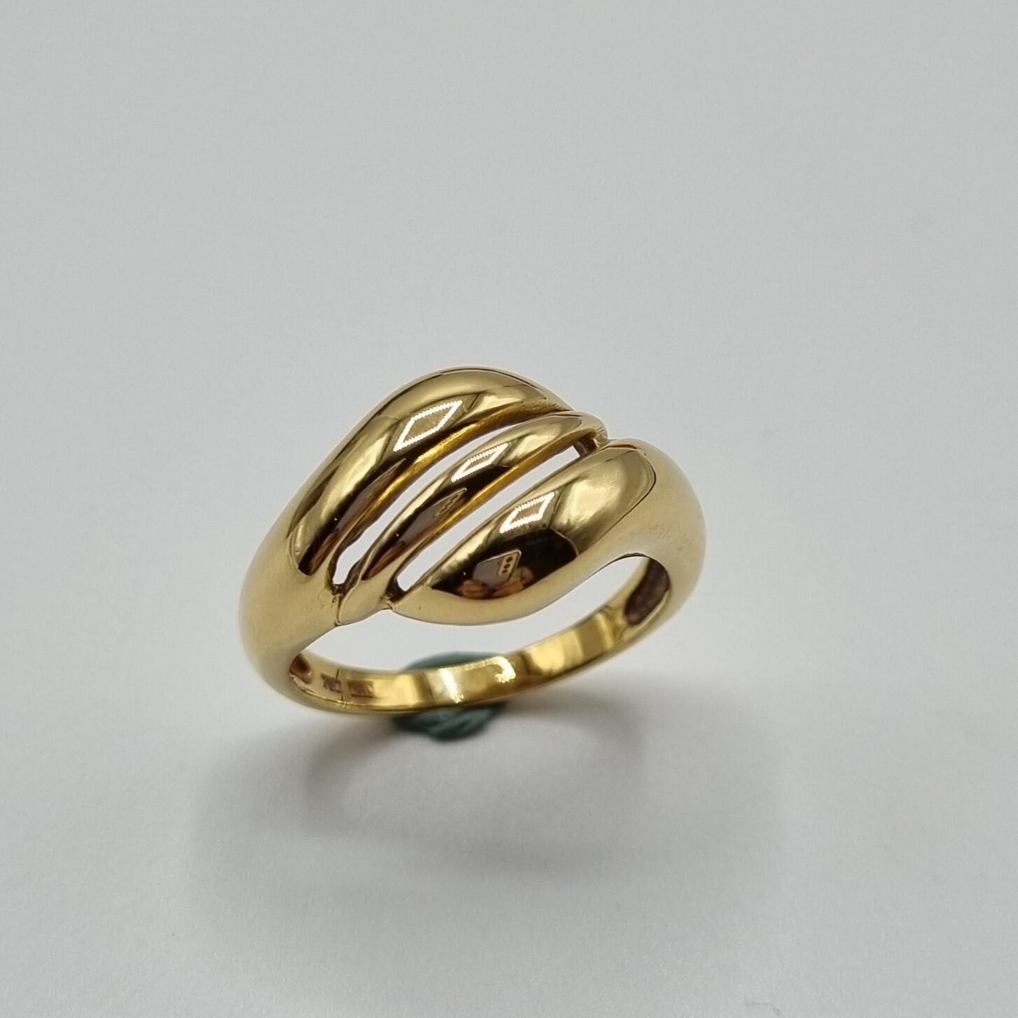 Damenring Gelbgold