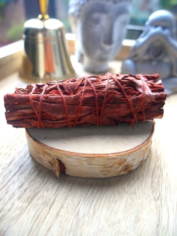Bâton de sauge rouge