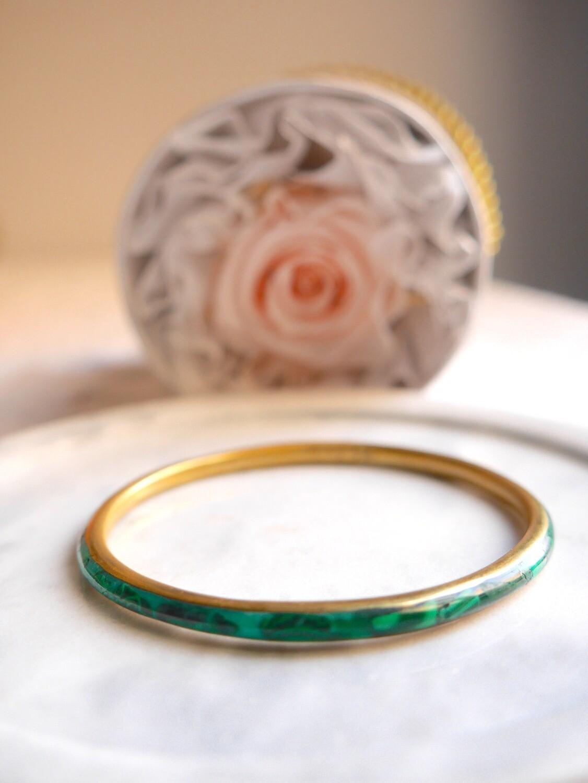 Bracelet little Ahlem en malachite