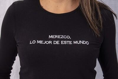 Polo Algodón - MEREZCO , LO MEJOR DE ESTE MUNDO