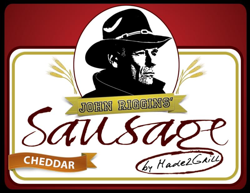 John Riggins' Sausage - Cheddar