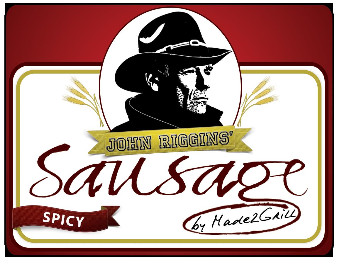 John Riggins' Sausage - Spicy