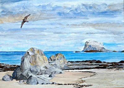 Bass Rock, East Lothian - print only