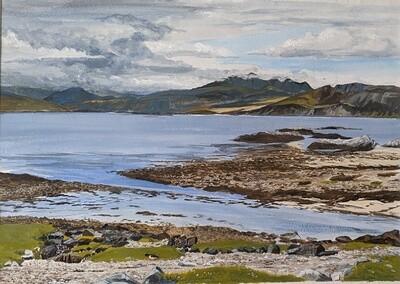 Looking across Loch Eishort, Isle of Skye - print only