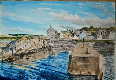 Sandend, Aberdeenshire - print only