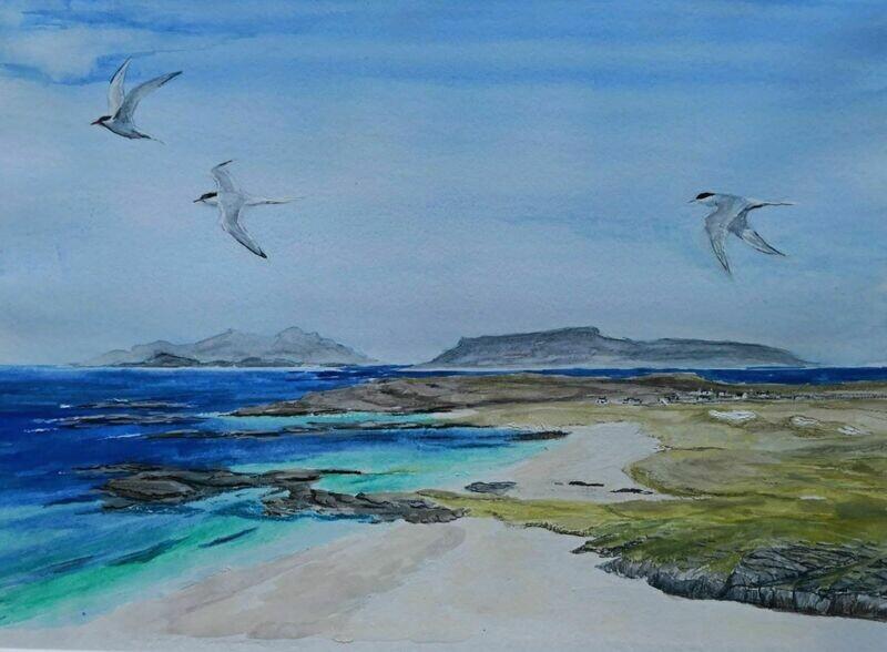 Ardnamurchan, Sanna Beach - print only