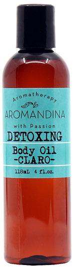 Detoxing Body Oil - CLARO