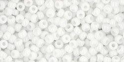 11/0 Round Toho Opaque White 41  40g
