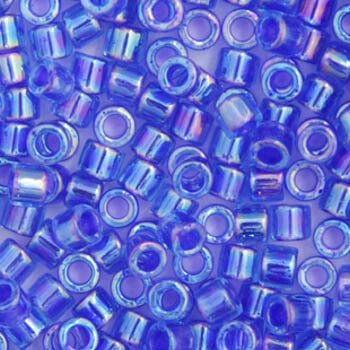 11/0 Delica Miyuki Blue Violet AB Colourlined 63