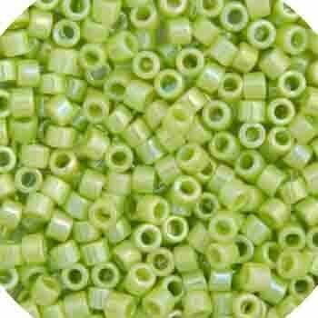 11/0 Delica Miyuki Opaque Chartreuse Green AB 169