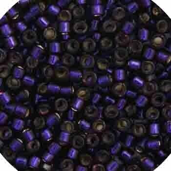 11/0 Delica Miyuki Dark Purple  s/l 609