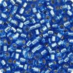 11/0 Delica Miyuki Light Sapphire Blue  s/l 1210