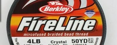 Fireline 4lb Crystal 55/y