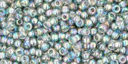 11/0 Round Toho Black Diamond Grey AB 176 40g