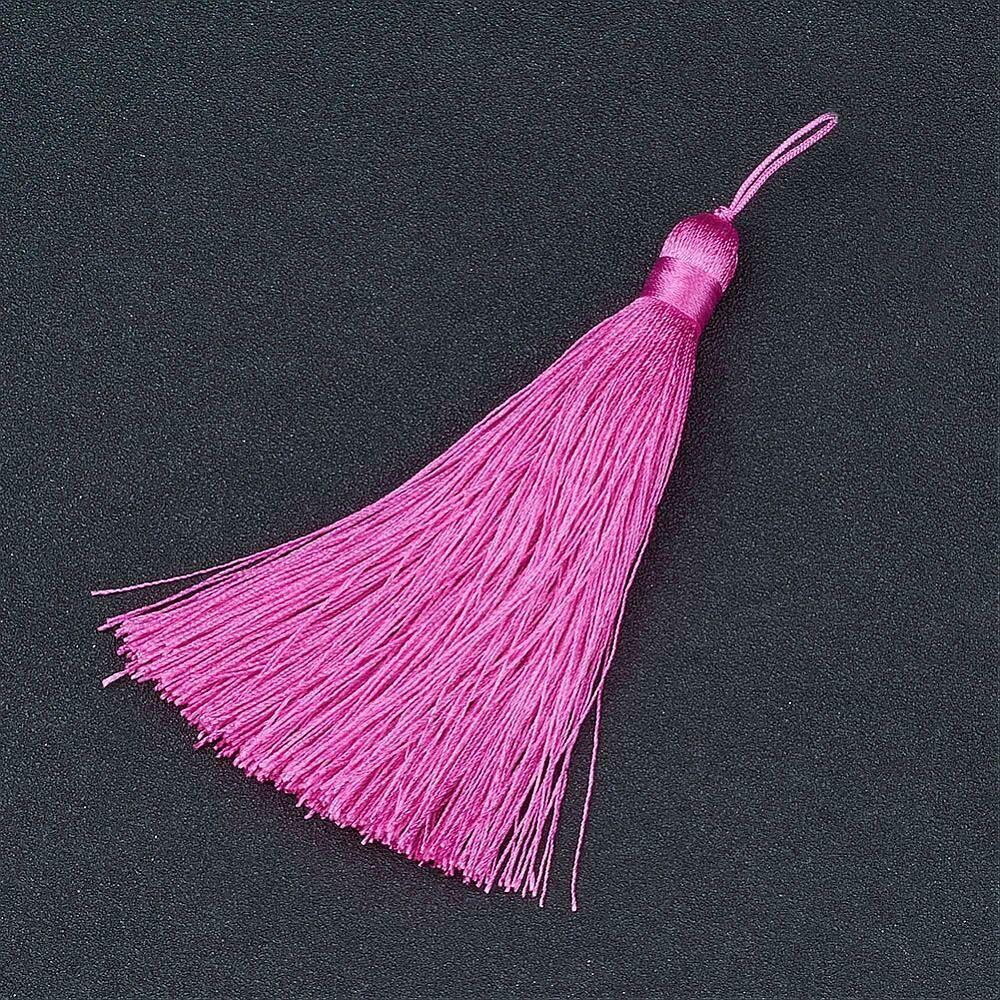Bright Pink Tassel 105x11mm