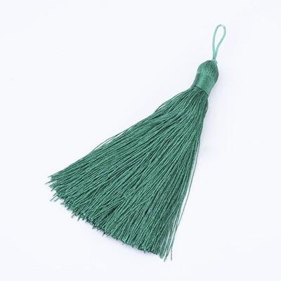 Light Sea Green Tassel 105x11mm