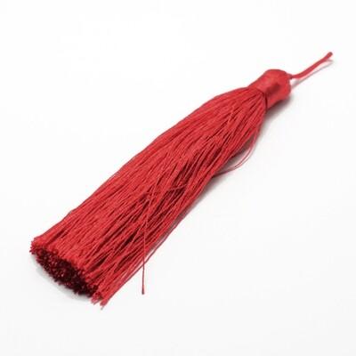 Bright Red Tassel 105x11mm