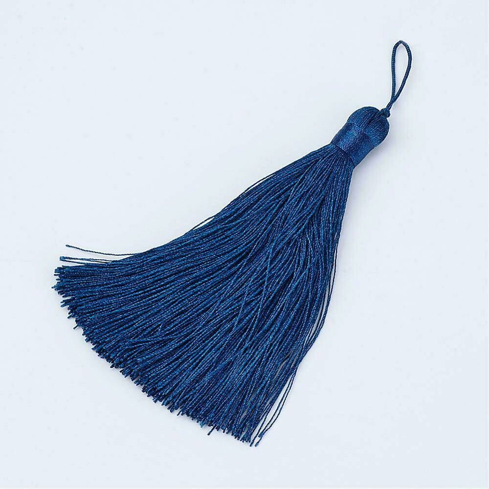 Marine Navy Blue Tassel 105x11mm