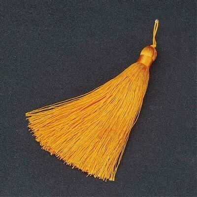 Buddhist Light Orange Tassel 105x11mm