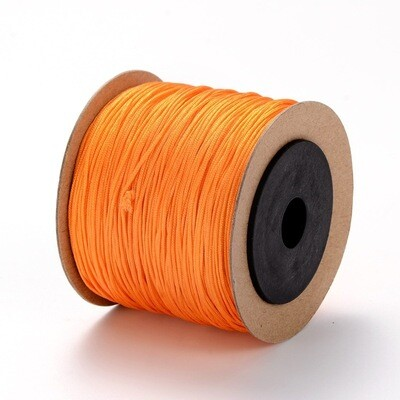 .8mm Chinese Knotting Cord  Orange x100m