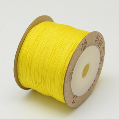 .8mm Chinese Knotting Cord  Yellow x100m