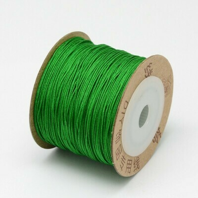 .8mm Chinese Knotting Cord Lime green x100m