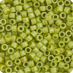 11/0 Delica Miyuki Opaque Chartreuse Green Lustre  262