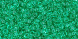 11/0 Round Toho Tr Beach Glass Green  72