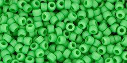 11/0 Round Toho Opaque Mint Green Matte 47f