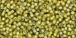 15/0 Round Toho Black Diamond Yellow c/l 246