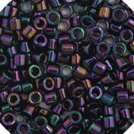 11/0 Delica Miyuki  Opaque Purple AB 4
