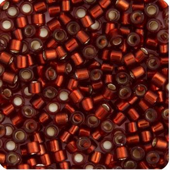 11/0 Delica Miyuki Dark Cranberry Red s/l 1202