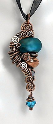 All Coiled Up Pendant