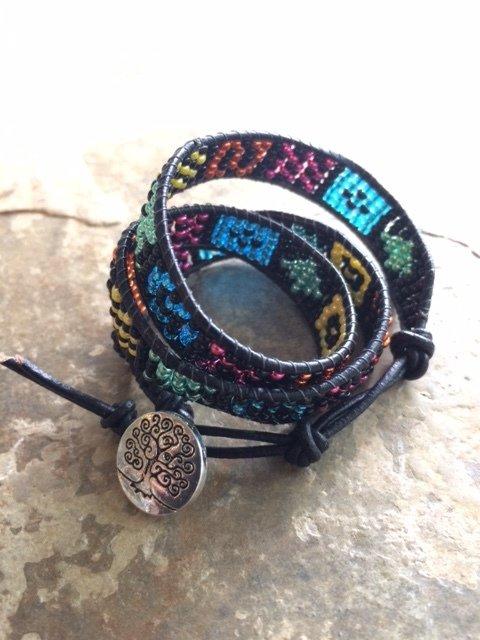 Seedbead Wrap Bracelet