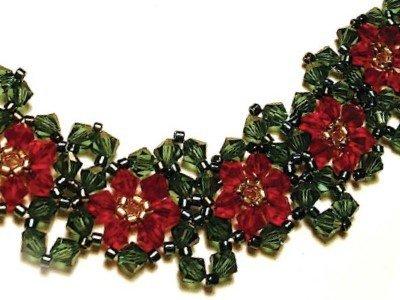 Poinsettia Bracelet