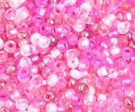 6/0 Round Czech Pink Mix 099