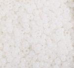 6/0 Round Czech  Alabaster White 1050