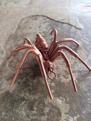 Wire Work Spider  Level 4