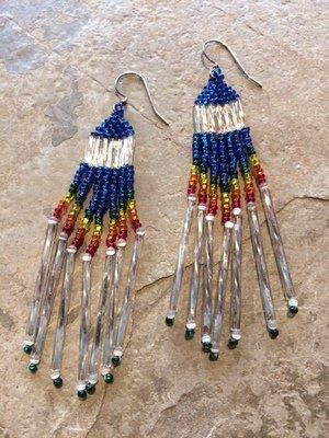 Brick Stitch Earrings Level 1