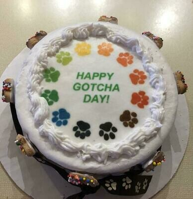 Gotcha Day Cake!           Local Pickup Only-2 day advance notice for baking time.