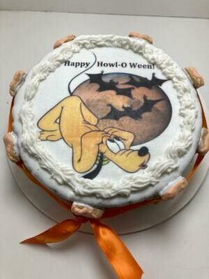 HOWL-O-WEEN CAKE - Local Pickup Only - 2 day notice for baking time.